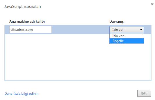 Google Chrome JavaScript