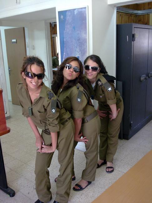Beautiful Female Soldiers of Israeli Defence Forces ...