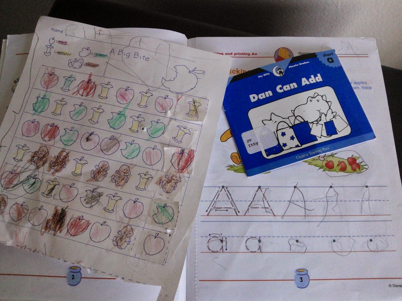 Our Deseret Homeschool 3school Week 1 Letter A Short Sound