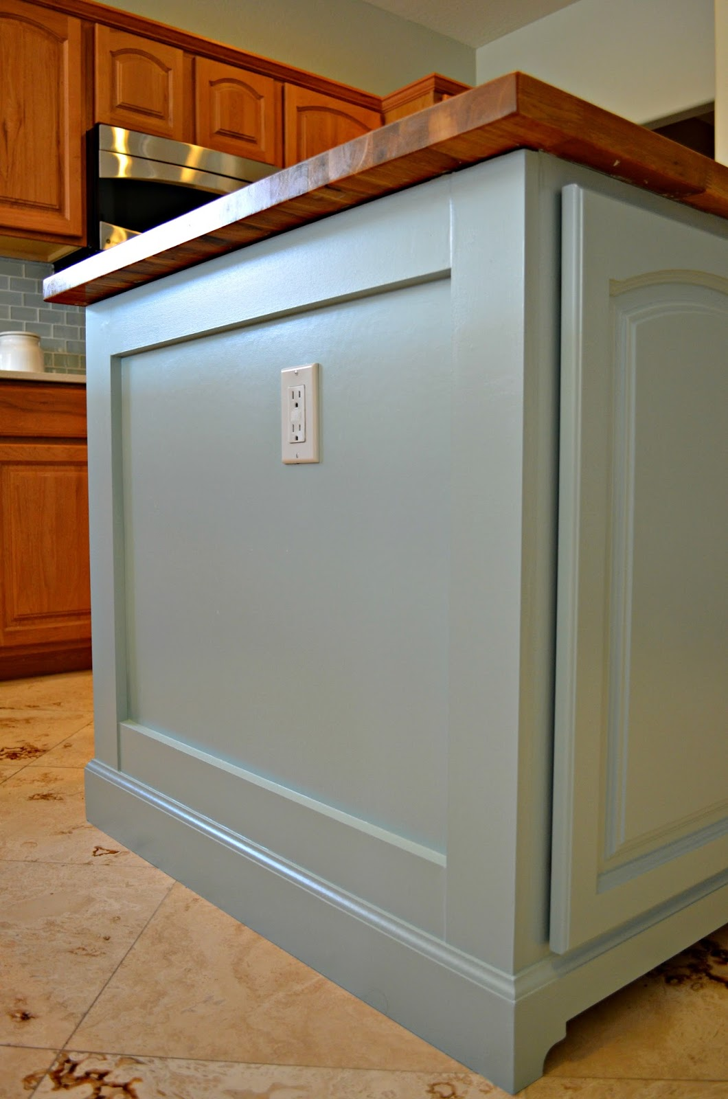 Minty Green Christine S Favorite Things Kitchen Island Makeover