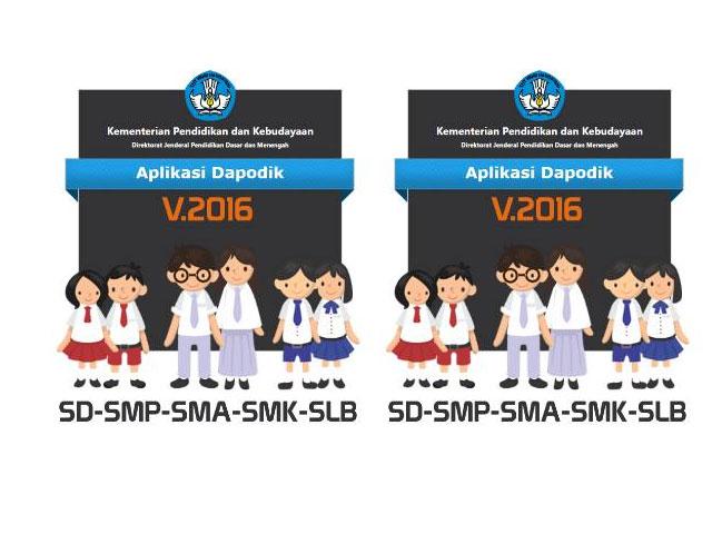 Contoh Formulir DAPODIK SD SMP SLB SMA SMK Format Excel tahun 2016