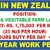 RECRUITMENT TO NEW ZEALAND | Salary: 1.75 Lac | Free Food+Accommo