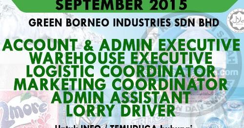 Kerja Kosong Pelbagai Jawatan | Green Borneo Industries