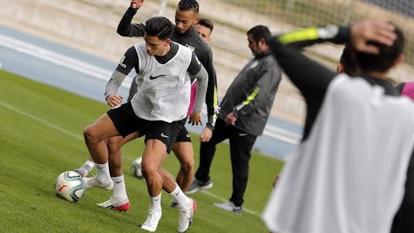 Málaga, hoy entrenamiento a las 10:45 horas