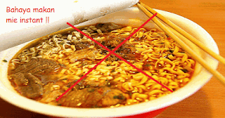 Bahaya makan mie instant setiap hari