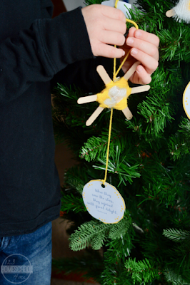 start ornament for kids