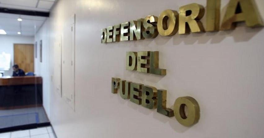 OPORTUNIDAD LABORAL: Puestos de trabajo con sueldos de S/ 2.800 hasta S/ 6.500 en la Defensoría del Pueblo - www.defensoria.gob.pe