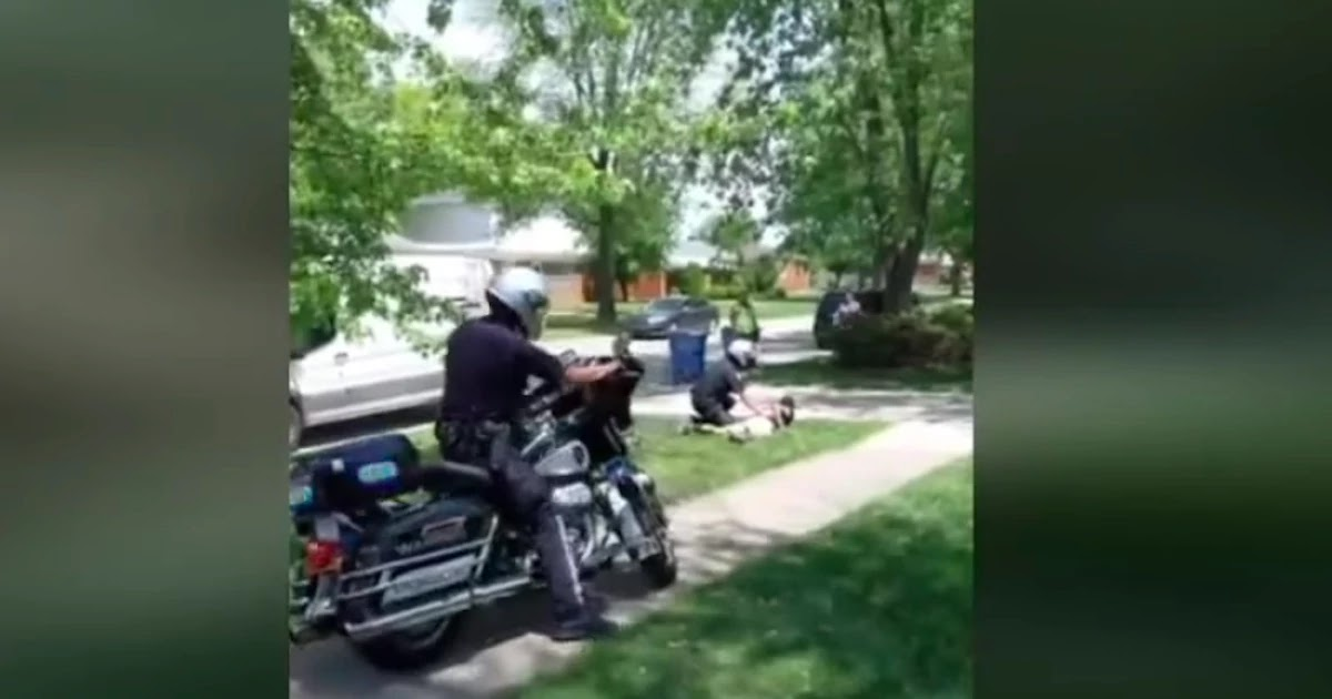 A Black Amazon Driver Has Been Brutally Arrested For A Parking Violation In Michigan Video Footage
