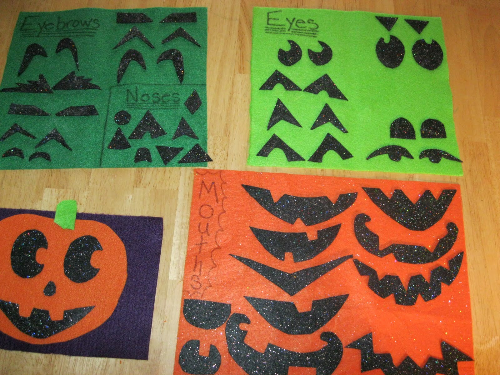 The Preschool Experiment Roll A Jack O Lantern