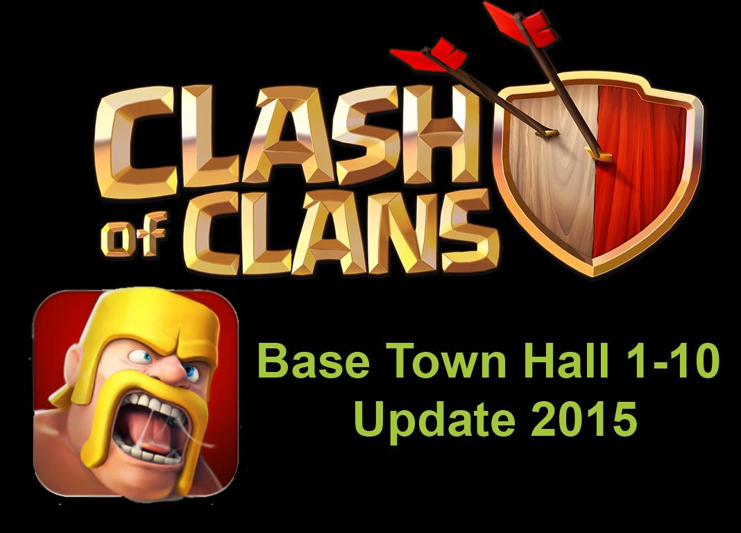 Clash Of Clans Base Town Hall 1 10 Terkuat Dan Terbaik 2015