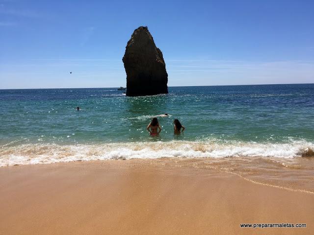 playas del Algarve, las más bonitas