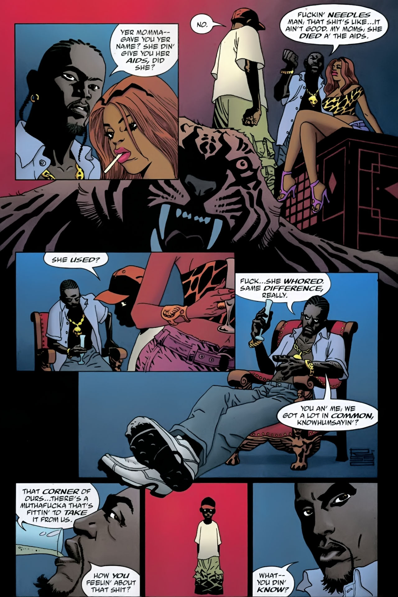Read online 100 Bullets comic -  Issue #89 - 18