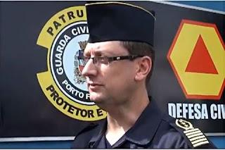 Comandante da GCM de Porto Ferreira, faz balanço positivo das ações  dos seus comandados no período no 1º semestre de 2016