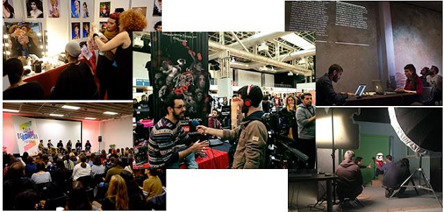 Algunas de las distintas actividades que se realizaron en el Salón de Cine y Series de Barcelona