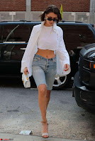 Bella Hadid in 3 4th Jeans In New York ~  Exclusive 011.jpg