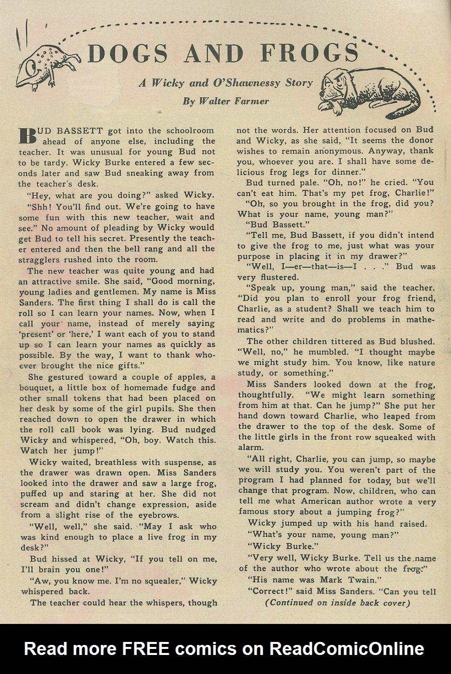 WHIZ Comics #155 #156 - English 2