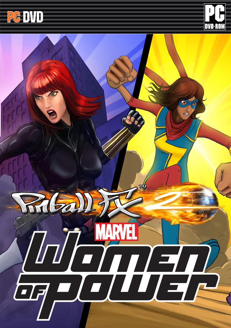 Pinball Fx2 Marvels Women Of Power - Full Version Game -9018