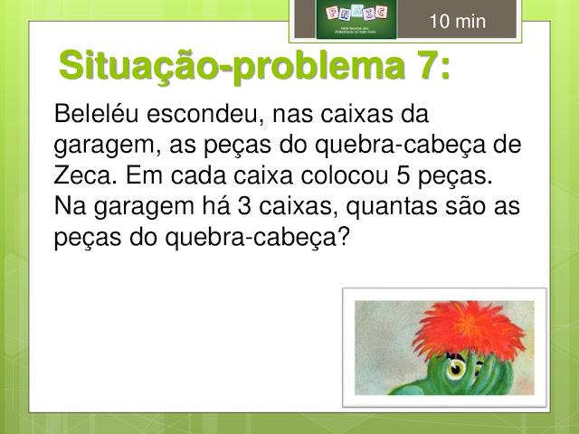 situação problema matematica