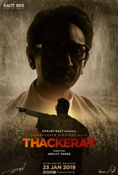 full cast and crew of Bollywood movie Thackeray 2019 wiki, Nawazuddin Siddiqui, story, release date, Thackeray Actress name poster, trailer, Video, News, Photos, Wallapper