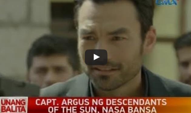 Captain Argus from Descendants of the Sun is in Manila