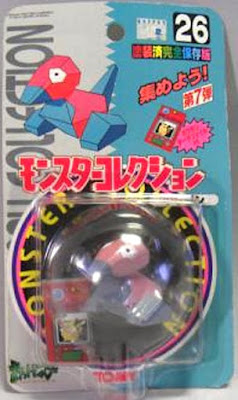 Porygon Pokemon figure Tomy Monster Collection series