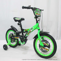 16 Inch United Shark Kids Bike
