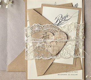Invito di nozze rustico