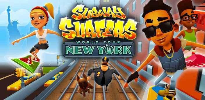 O jogo subway surfers jogar