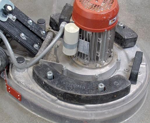 Máy mài sàn-chà nhám-chà ron-làm sạch-đánh bóng nền gạch đá Raimondi Ipertitina 108 110DK