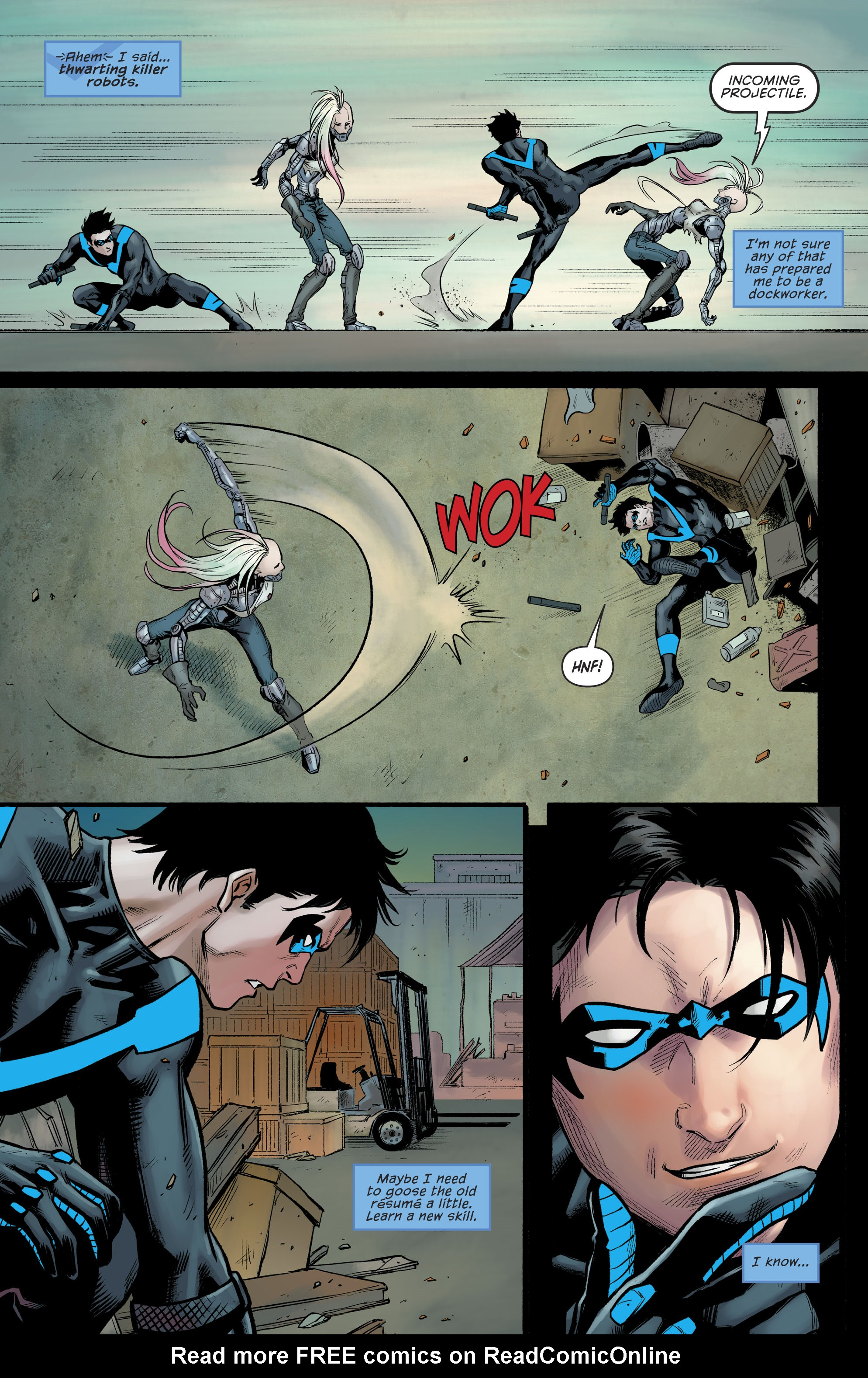 Read online Nightwing (2016) comic -  Issue #23 - 11