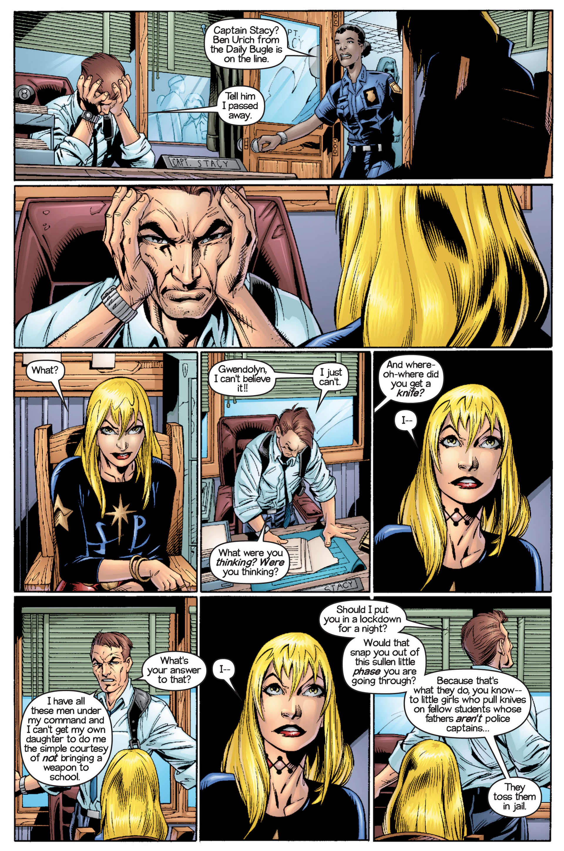 Read online Ultimate Spider-Man (2000) comic -  Issue #16 - 9
