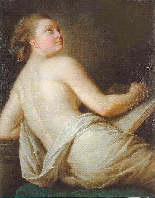 Allegory of Poetry (1774), Elisabeth Vigée-Lebrun