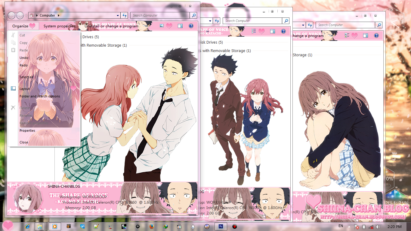 Koe No Katachi Myanimelist Windows 7 Theme Forums Net