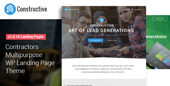 Best Multipurpose WordPress Landing Page Theme