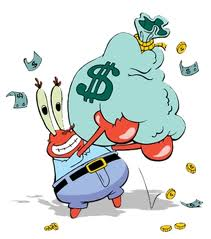 The character of Mr. Krabs in SpongeBob Movie ~ My Article