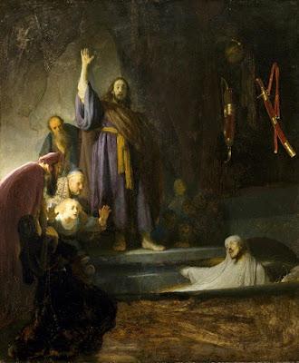 Imagem da ressurreição de Lázaro, pintura, #1