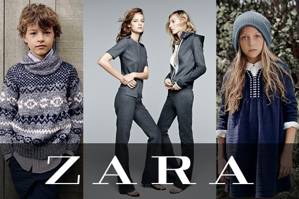Zara apparel brand