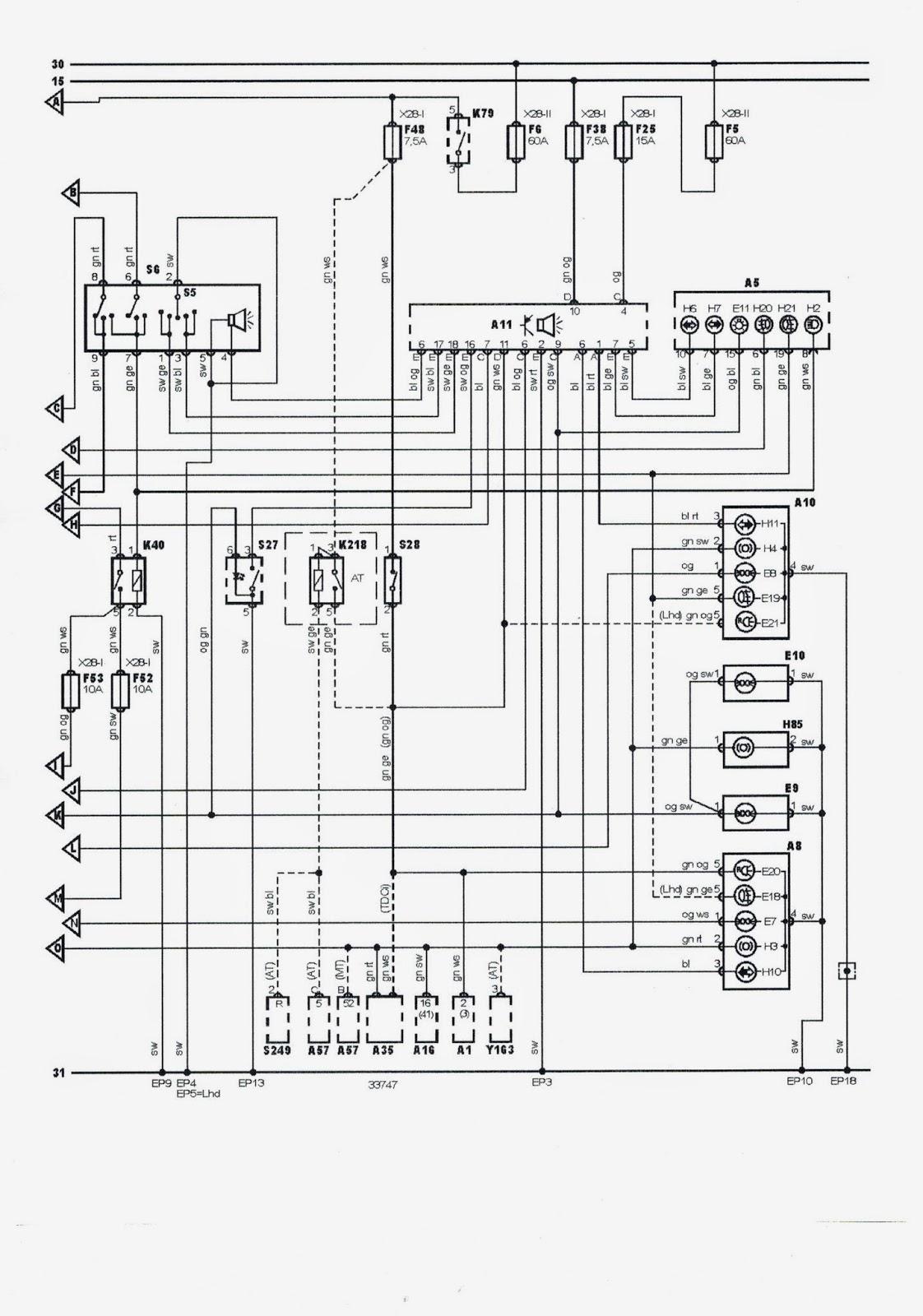 Manuales De Reparacion Ford Fiesta Esquema Electrico