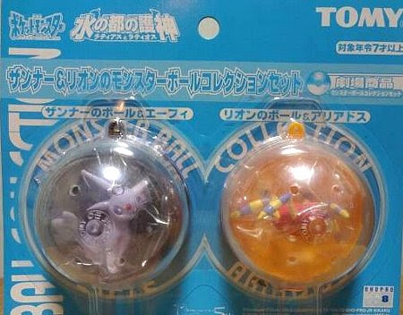 Espeon figure Tomy Annie & Oaklay's PokeBall Collection set