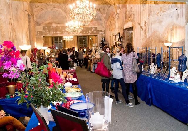 Mercado Natale per File em Florença