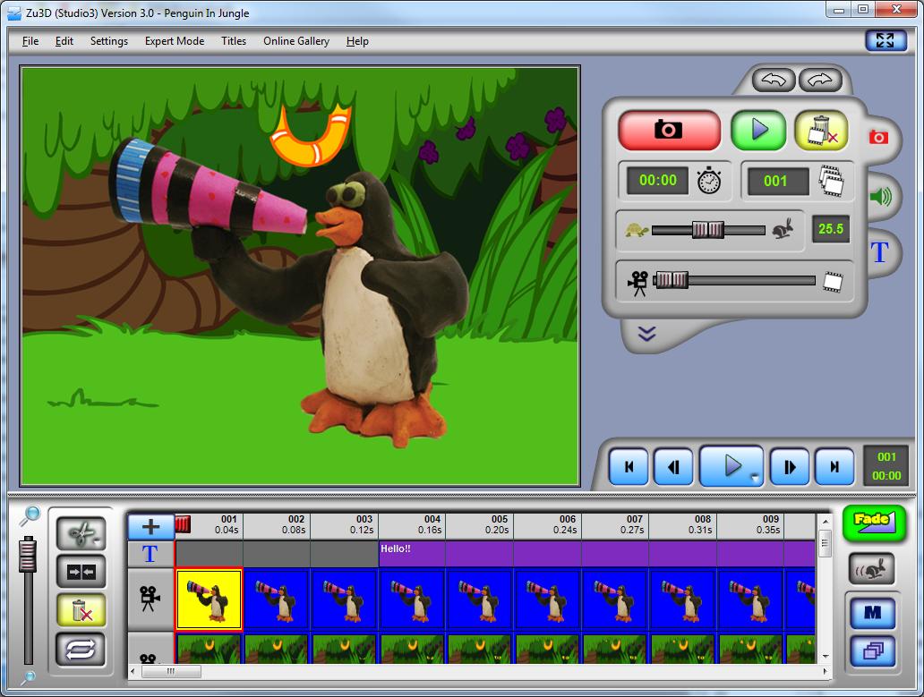 Kids Animation Software