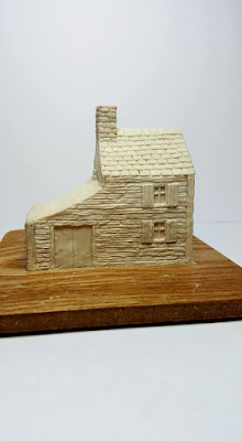 New 10mm scale American Civil War Building on the workbench