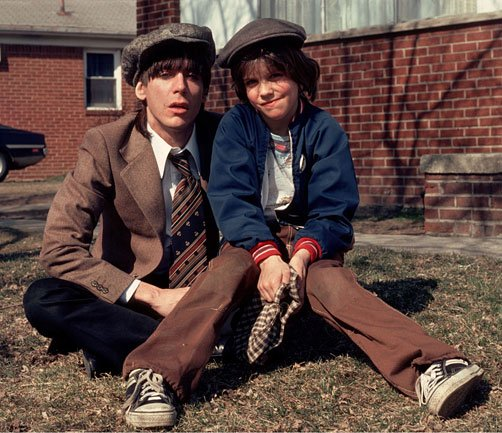afc4e9f9 Iggy Pop and his Son Eric Benson 1970's | BlueisKewl