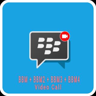 BBM + BBM2 + BBM3 + BBM4 3.0.0.18 Video Call Apk Terbaru