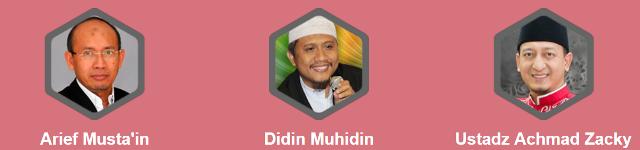 Profil Dewan Juri Lomba Dakwah dan Murotal