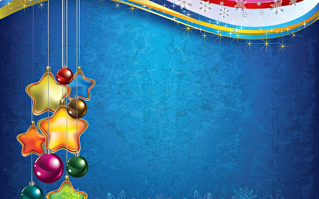 Mooie 3D kerst achtergrond
