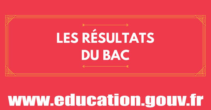 Résultats Bac 2017 (5 Juillet) Ministère de l'Éducation nationale, de l'Enseignement supérieur et de la Recherche - www.education.gouv.fr
