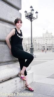 wanda panda shoes, wanda panda zapato, plaza oriente, mono negro, fashionista, fashion blogger, outfit plaza oriente