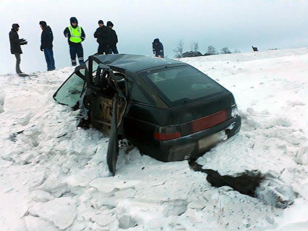 В Шаранском районе столкнулись Toyota Rav4 и ВАЗ-2112