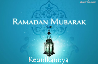 Buat Info - Bulan Ramadhan dan Keunikannya